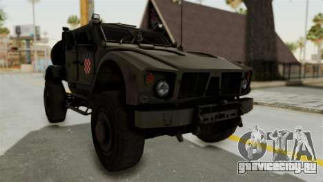 Croatian Oshkosh M-ATV Desert для GTA San Andreas