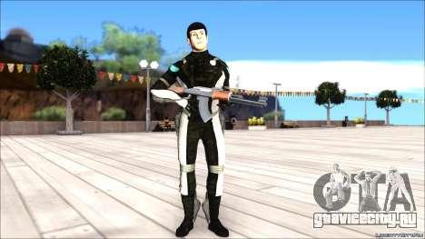 Star Trek Spock для GTA San Andreas второй скриншот