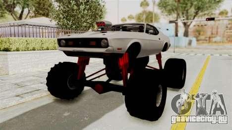Ford Mustang 1971 Monster Truck для GTA San Andreas