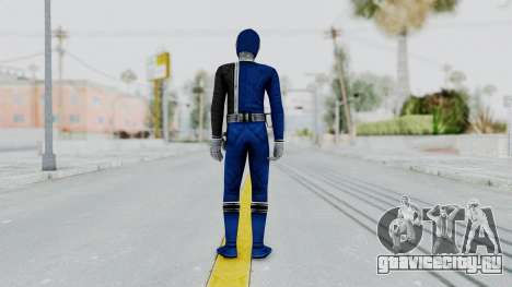 Power Rangers S.P.D - Blue для GTA San Andreas третий скриншот
