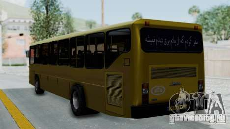 Mercedes-Benz Old Iranian Bus для GTA San Andreas вид слева