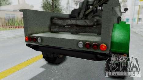 GTA 5 Bravado Duneloader Cleaner Worn IVF для GTA San Andreas вид сбоку