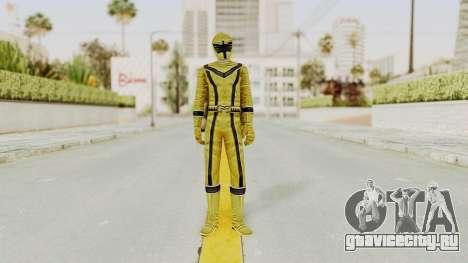 Power Rangers Mystic Force - Yellow для GTA San Andreas второй скриншот