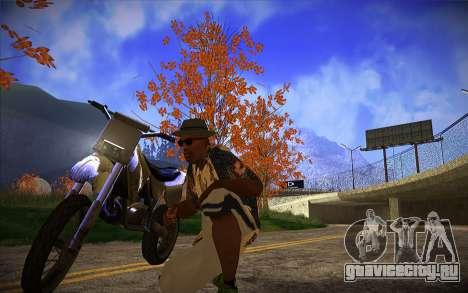 ENB Series by TURBO MIX для GTA San Andreas второй скриншот