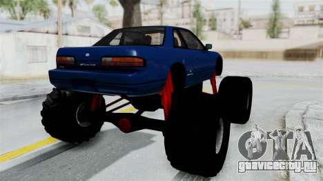Nissan Silvia S13 Monster Truck для GTA San Andreas вид справа