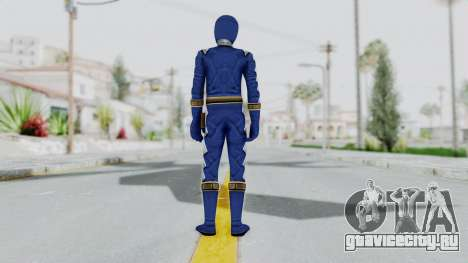 Power Rangers Dino Thunder - Blue для GTA San Andreas третий скриншот