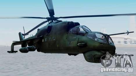 Mi-24V Polish Air Force 727 для GTA San Andreas