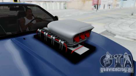 Nissan Silvia S13 Monster Truck для GTA San Andreas вид сзади