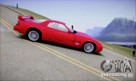ZR - 350 для GTA San Andreas вид слева