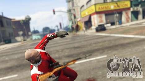 Самозарядный карабин Симонова для GTA 5 шестой скриншот
