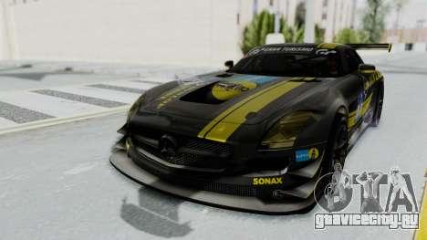 Mercedes-Benz SLS AMG GT3 PJ7 для GTA San Andreas двигатель
