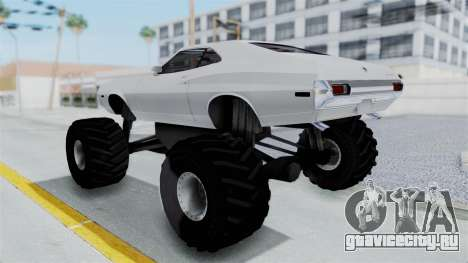 Ford Gran Torino 1972 Monster Truck для GTA San Andreas вид слева