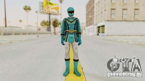 Power Rangers Mystic Force - Blue для GTA San Andreas второй скриншот