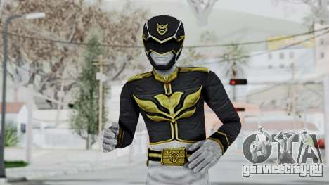 Power Rangers Megaforce - Black для GTA San Andreas