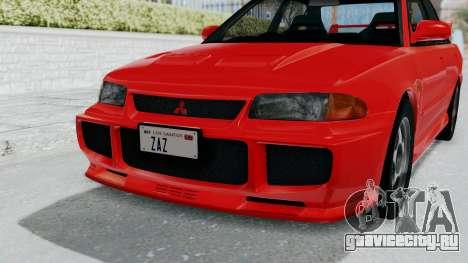 Mitsubishi Lancer Evolution III 1996 (CE9A) для GTA San Andreas вид сбоку