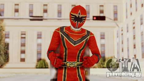 Power Rangers Mystic Force - Red для GTA San Andreas