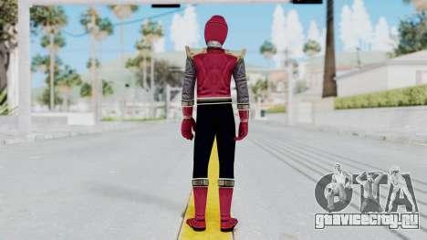 Power Rangers Ninja Storm - Crimson для GTA San Andreas третий скриншот