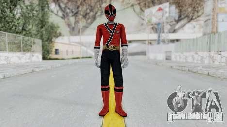 Power Rangers Samurai - Red для GTA San Andreas второй скриншот