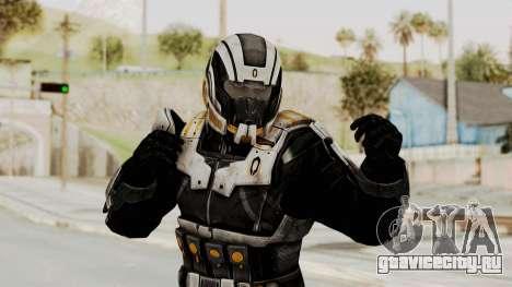 Mass Effect 3 Shepard Ajax Armor with Helmet для GTA San Andreas
