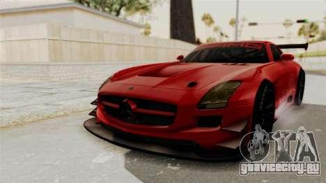 Mercedes-Benz SLS AMG GT3 PJ2 для GTA San Andreas вид сзади слева