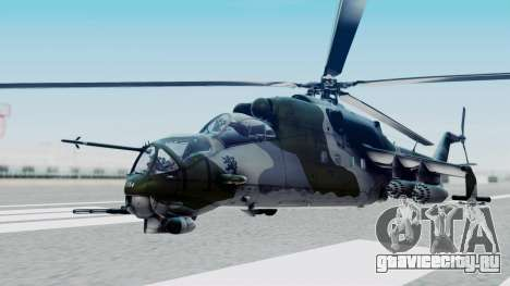 Mi-24V Czech Air Force 7354 для GTA San Andreas