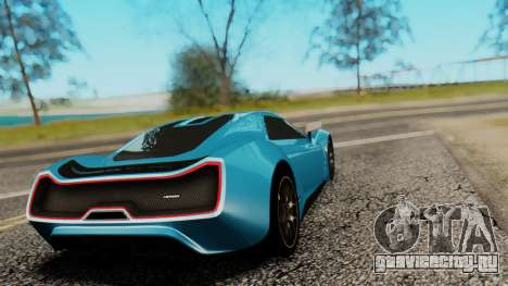 Trion Nemesis RR v0.1 Beta для GTA San Andreas вид слева