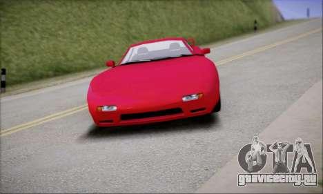 ZR - 350 для GTA San Andreas вид сзади слева