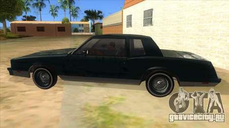 Chevrolet Monte Carlo 81 для GTA San Andreas вид слева