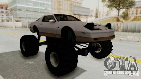 Pontiac Firebird Trans Am Monster Truck 1982 для GTA San Andreas