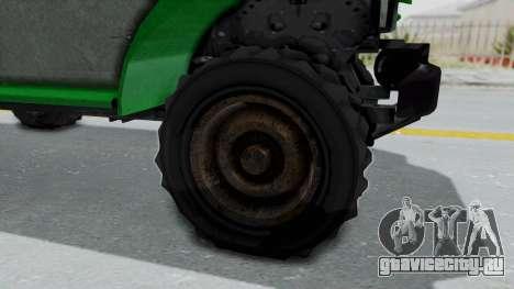GTA 5 Bravado Duneloader Cleaner Worn IVF для GTA San Andreas вид сзади