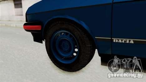 Dacia 1310 MLS Modell 1985 для GTA San Andreas вид сзади слева