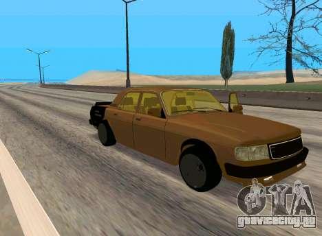 Волга 3110 Боевая Классика для GTA San Andreas вид слева