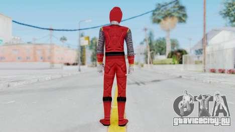 Power Rangers Ninja Storm - Red для GTA San Andreas третий скриншот