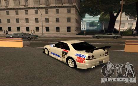 Nissan Skyline R33 Tunable для GTA San Andreas вид изнутри