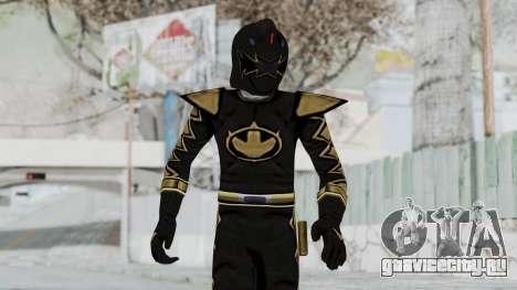 Power Rangers Dino Thunder - Black для GTA San Andreas