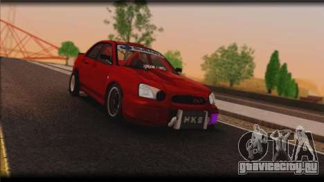 Subaru Impreza STi Drag Racing Unlim 500 для GTA San Andreas