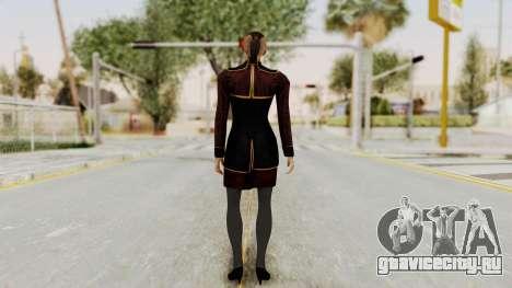 Mass Effect 3 Jack Official Skirt для GTA San Andreas третий скриншот