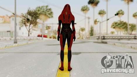 Mass Effect 2 Kasumi Red для GTA San Andreas третий скриншот