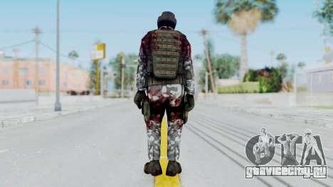 Black Mesa - Wounded HECU Marine Medic v1 для GTA San Andreas третий скриншот