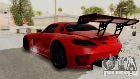 Mercedes-Benz SLS AMG GT3 PJ2 для GTA San Andreas вид слева