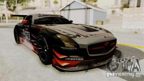 Mercedes-Benz SLS AMG GT3 PJ2 для GTA San Andreas салон