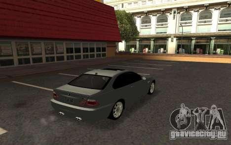BMW M3 E46 Tunable для GTA San Andreas вид слева
