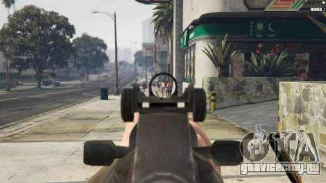 Bioshock Infinite - Carbine Rifle для GTA 5 пятый скриншот