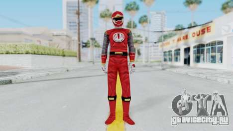 Power Rangers Ninja Storm - Red для GTA San Andreas второй скриншот