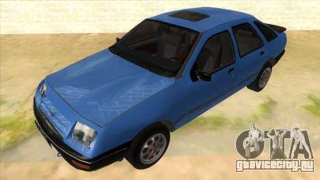 Ford Sierra 1.6 GL Updated для GTA San Andreas