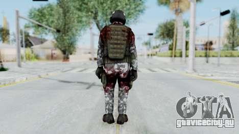 Black Mesa - Wounded HECU Marine Medic v2 для GTA San Andreas третий скриншот