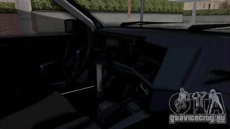 Ford Sierra Turnier 4x4 Saphirre Cosworth для GTA San Andreas вид изнутри