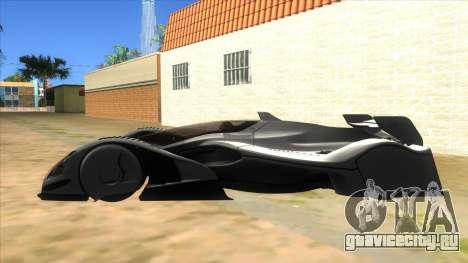 RedBull X2010 для GTA San Andreas вид слева