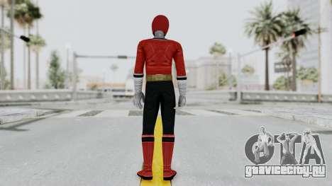 Power Rangers Samurai - Red для GTA San Andreas третий скриншот