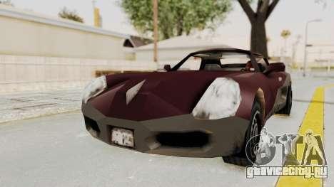 GTA 3 Yakuza Stinger для GTA San Andreas вид сзади слева